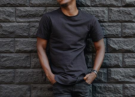dark grey tshirt