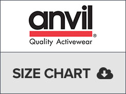 anvil size chart